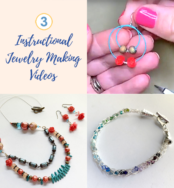 3 Instructional Jewelry Making Videos