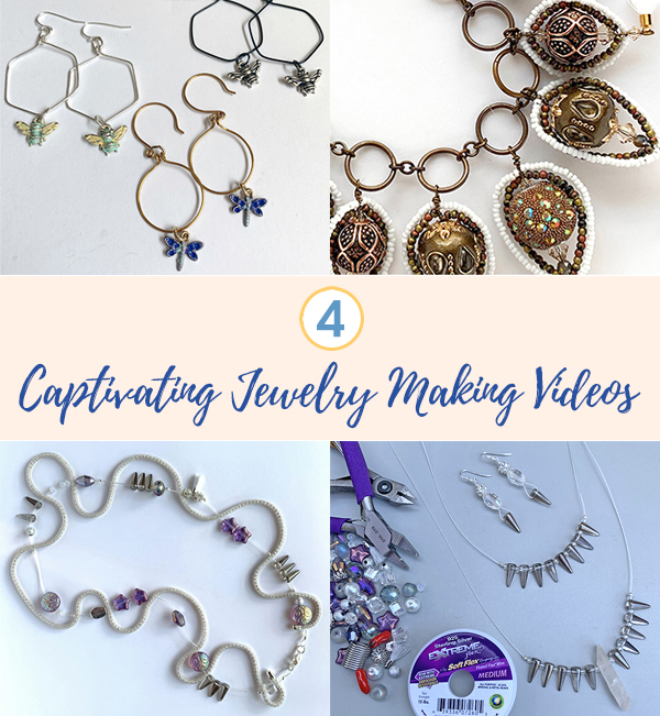 4 Captivating Jewelry Making Videos