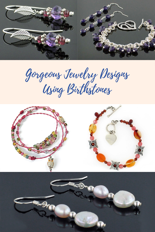Gorgeous Jewelry Designs Using Birthstones
