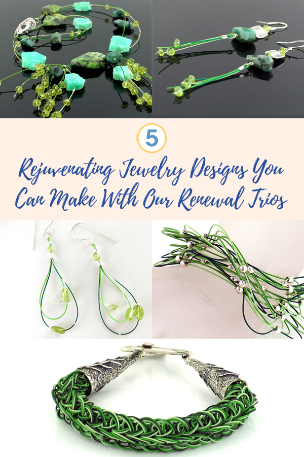 5 Rejuvenating Jewelry Designs You Can Make With Soft Flex Renewal Trios