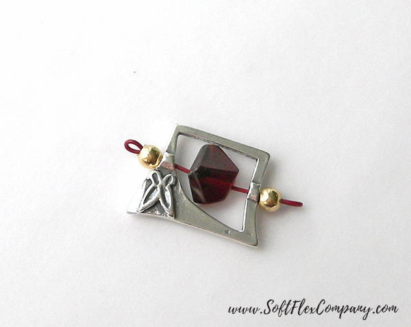 Garnet And Glitz Necklace 1