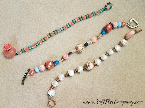 Shades Of Coral Jewelry by Cindy Randall