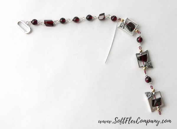 Garnet And Glitz Necklace 5