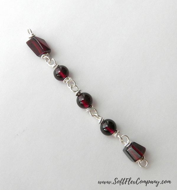 Garnet And Glitz Necklace 3