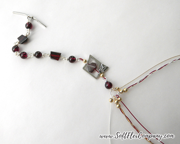 Garnet And Glitz Necklace 11