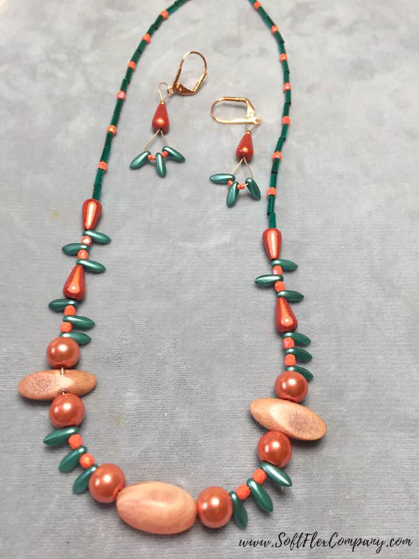 Shades Of Coral Jewelry by Dee Horten