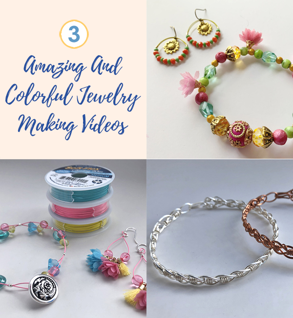 Weekly Video Recap Explore Making Jewelry With Soft Flex Colored