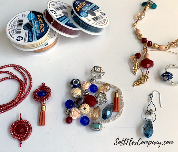 Jewelry Ideas Using 2019 Fall/Winter Pantone Colors And SilverSilk by Kristen Fagan