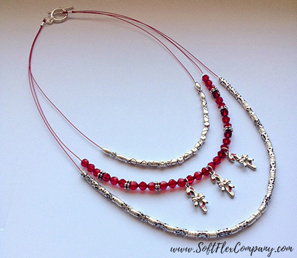 Candy Cane Charm Necklace 1