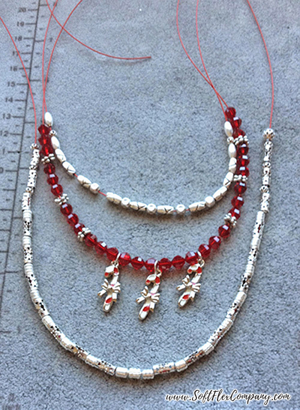 Candy Cane Charm Necklace 3