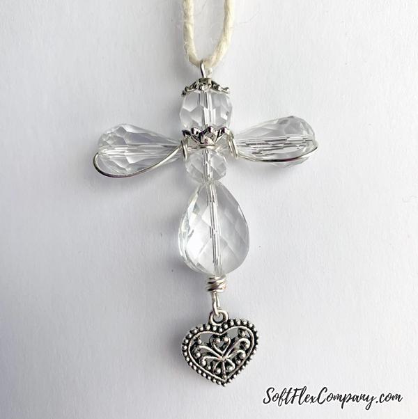Beaded Guardian Angel Ornament by Kristen Fagan