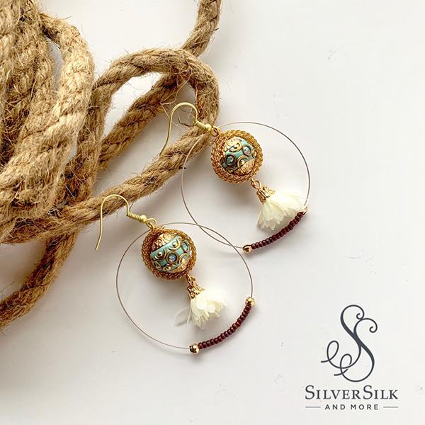 Nealay Patel's Decorative Hoop Earrings 2