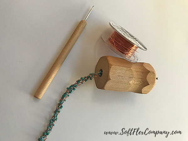 Knit On A Spool With Soft Flex Craft Wire 6