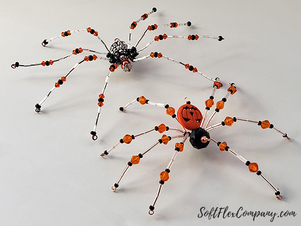 Craft Wire Christmas Spider by James Browning
