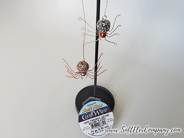 Soft Flex Craft Wire Spiders by James Browning