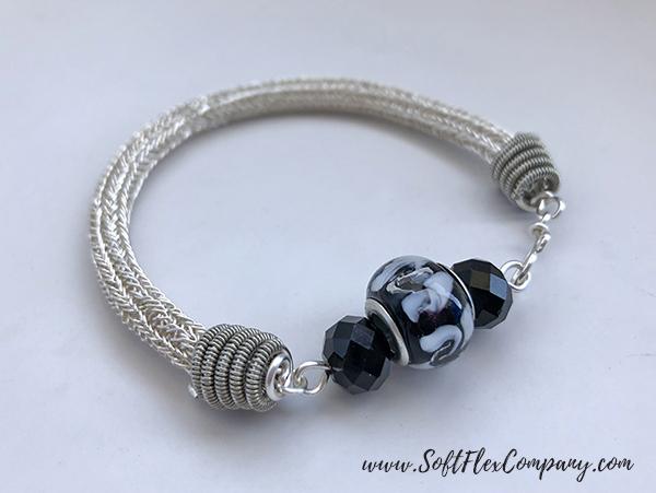 Lazee Daizee Soft Flex Craft Wire Double Stitch Bracelet by James Browning