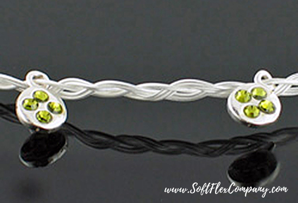 Soft Flex Extreme Silver Wrap Bracelet/Necklace by Jamie Hogsett