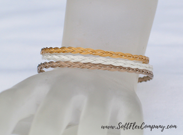 Soft Flex Extreme Mixed Metals Bracelet by Jamie Hogsett
