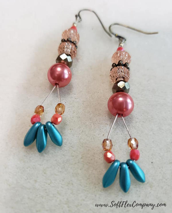 Shades Of Coral Jewelry by Jeni Vadnais