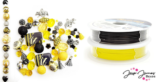 Jesse James Beads' School Of Magic Badger Beads and Soft Flex Beading Wire