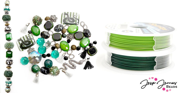 Jesse James Beads' School Of Magic Snake Beads and Soft Flex Beading Wire