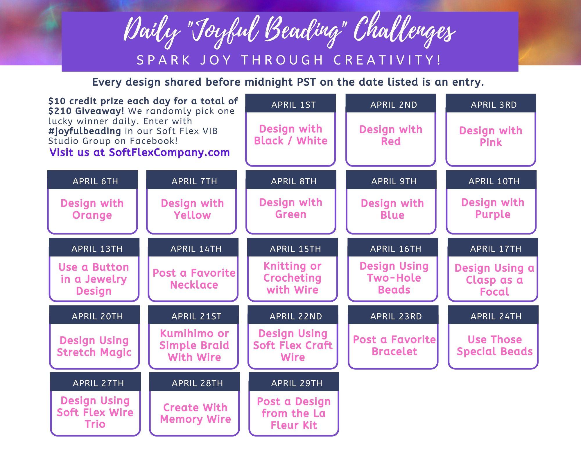 Joyful Beading Calendar