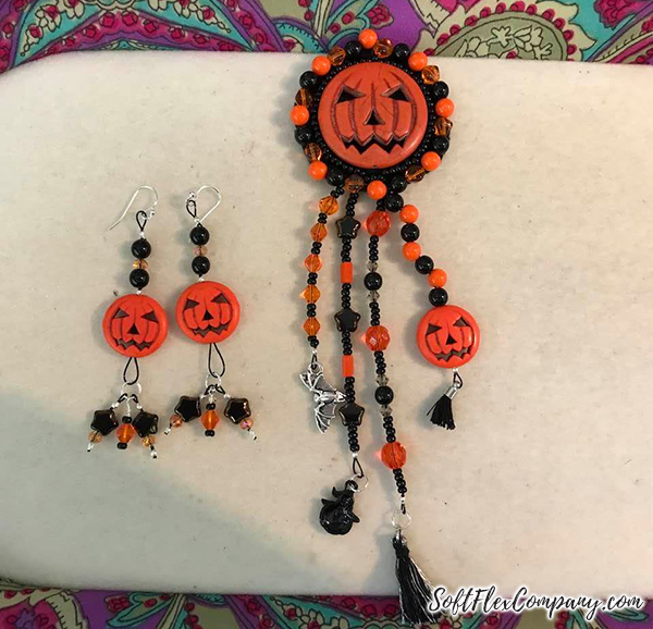 Great Pumpkin Jewelry Designs by Judy Sparn