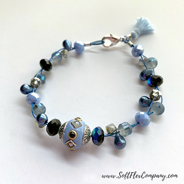 April Showers Bead Mix Bracelet
