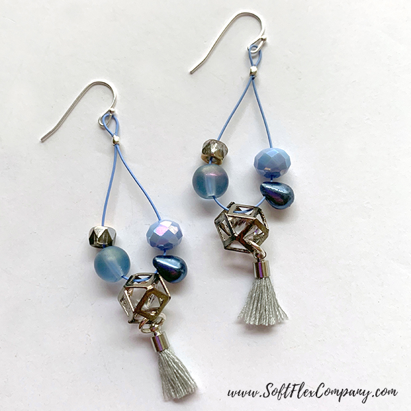 April Showers Bead Mix Earrings