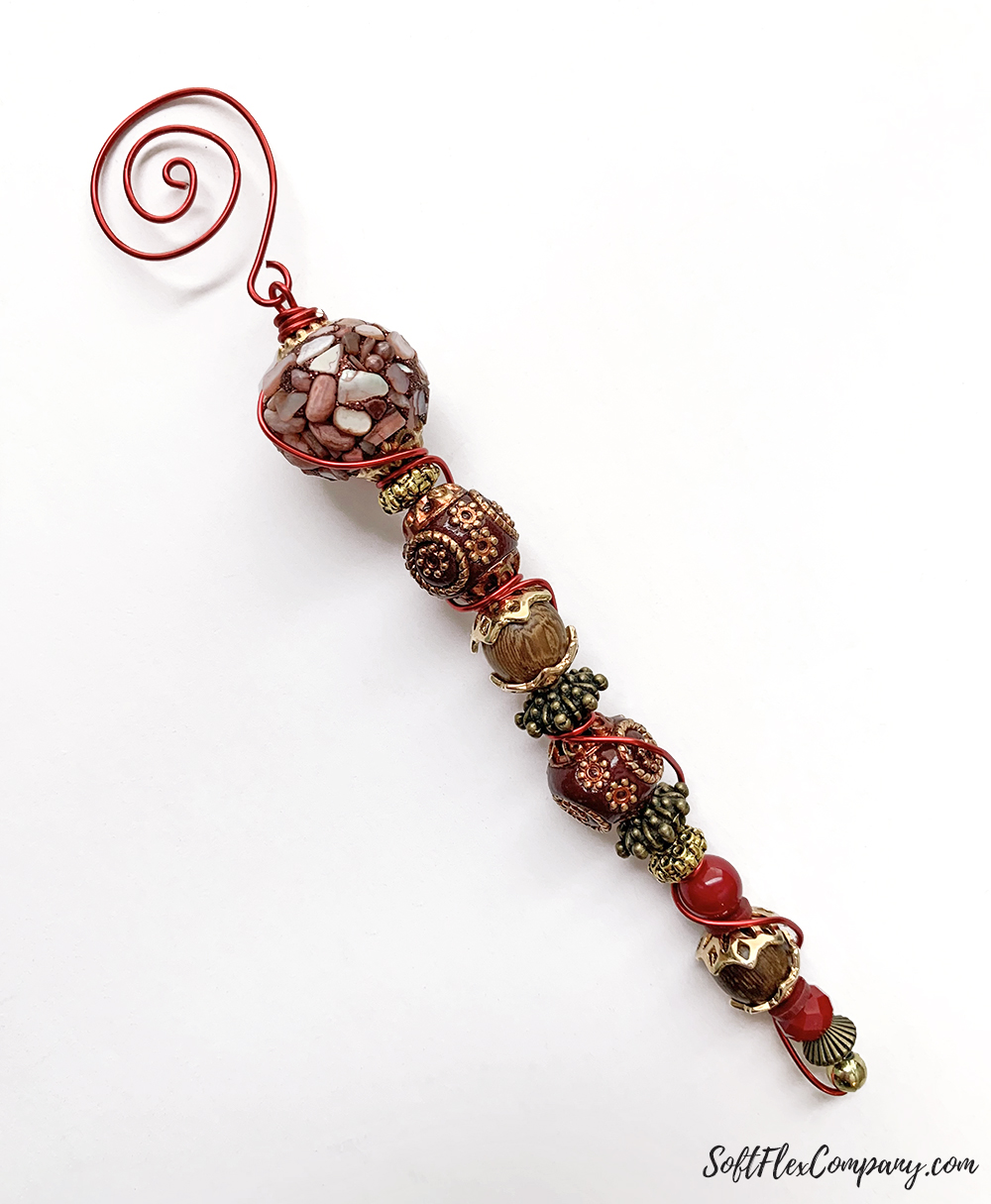 Craft Wire Swirl Ornament Hanger & Icicle Ornament by Kristen Fagan