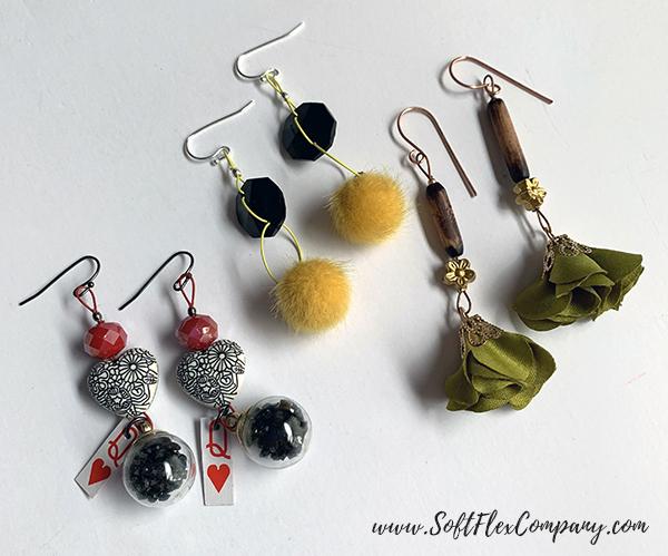 Halloween Earrings by Kristen Fagan