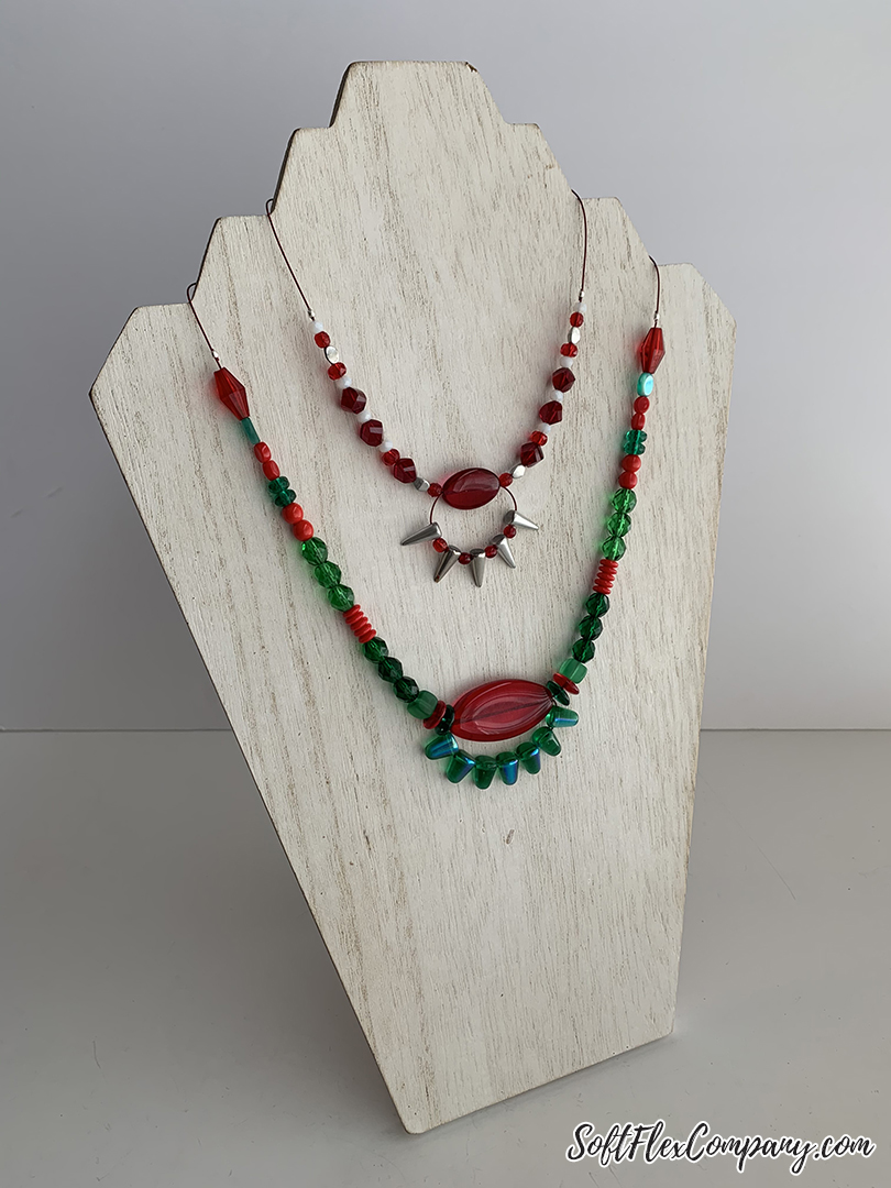 Holiday Make Along Necklace by Kristen Fagan