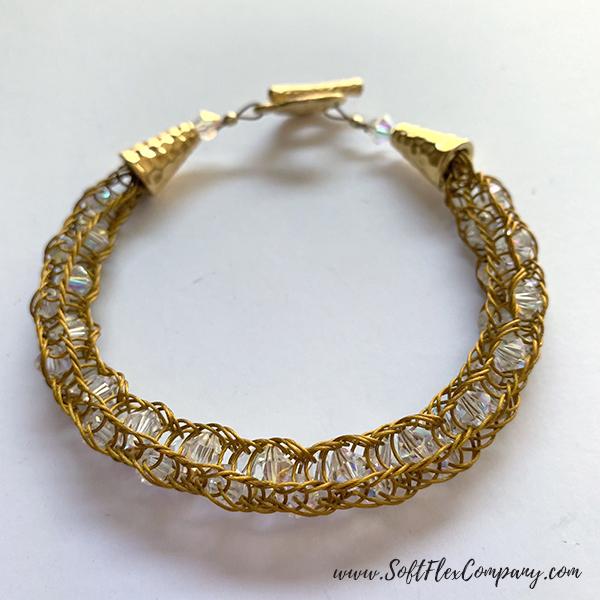 Knitted Soft Flex Pro Econoflex Bracelet by Kristen Fagan