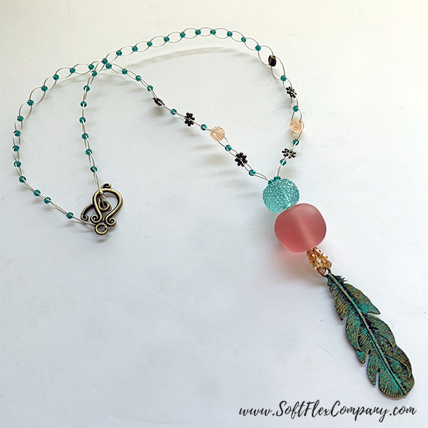 Shades Of Coral Necklace by Kristen Fagan