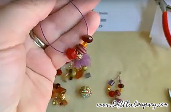 Tucson Sunset Earring Dangles by Kristen Fagan