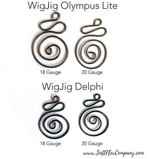 WigJig Spiral Earrings by Kristen Fagan