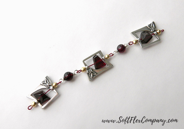 Garnet And Glitz Necklace 2