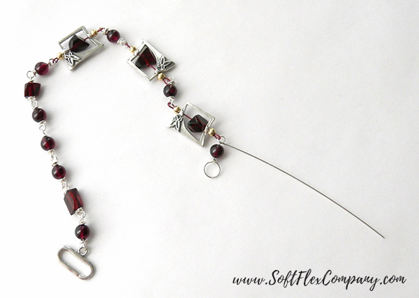 Garnet And Glitz Necklace 6