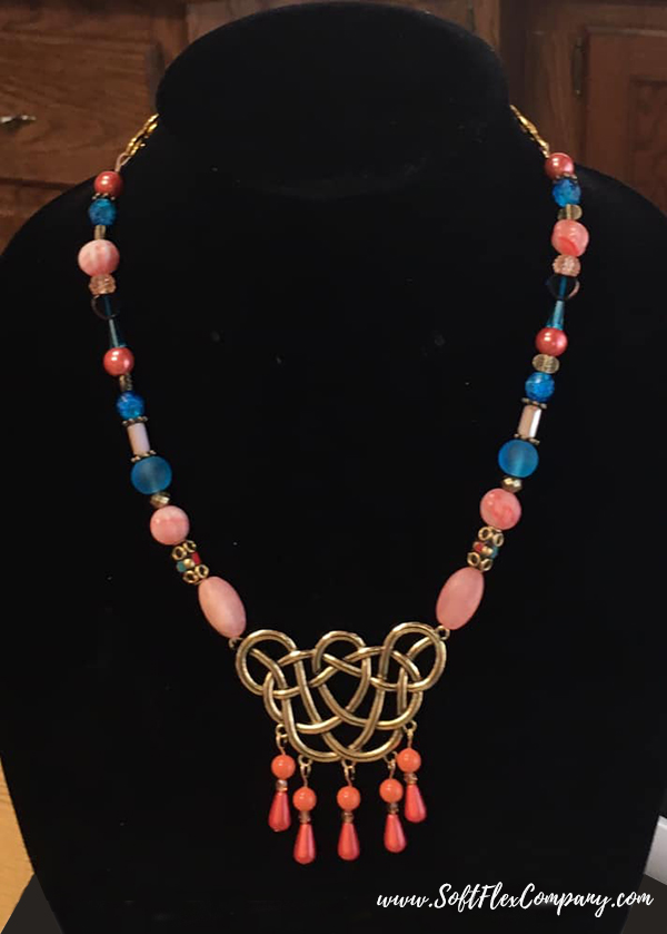 Shades Of Coral Jewelry by Marcia Maloney
