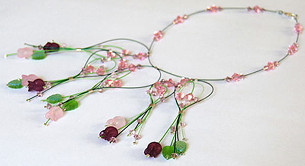 Vegetation Necklace by Melissa J. Lee