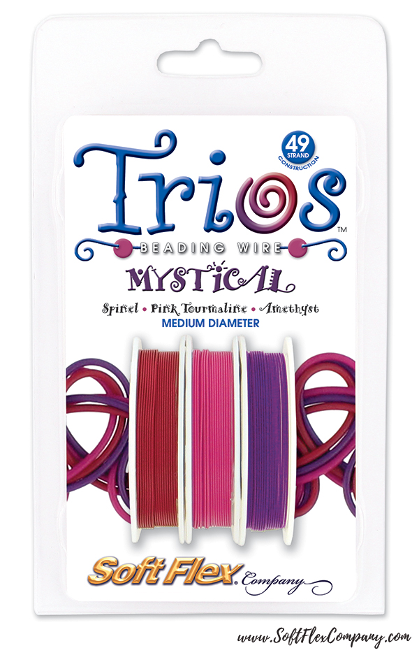 Mystical Trios Beading Wire Packs
