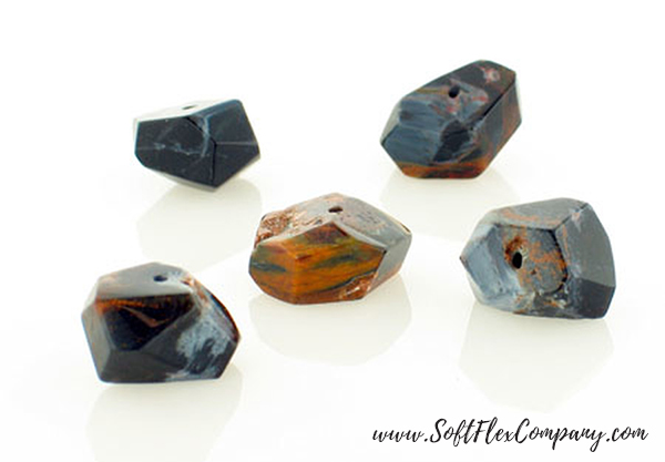 Namibian Pietersite Simple Cut Nuggets