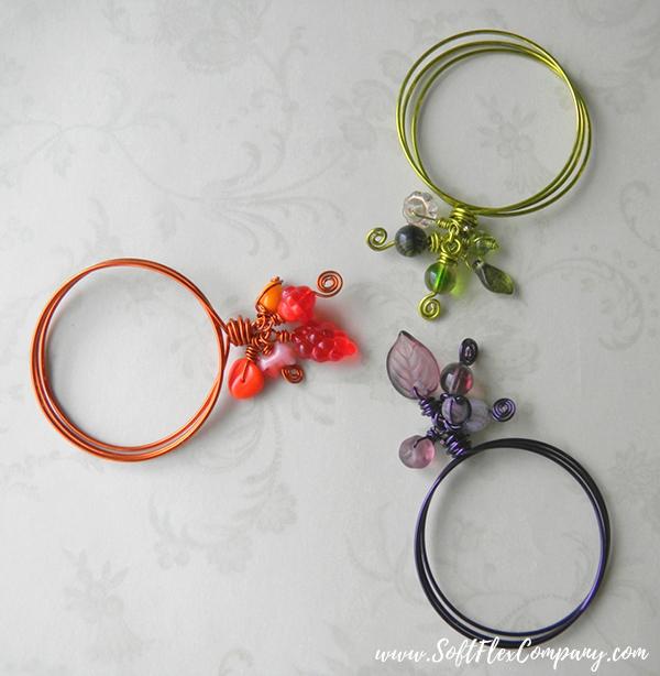 Beaded Napkin Rings by Jamie Hogsett