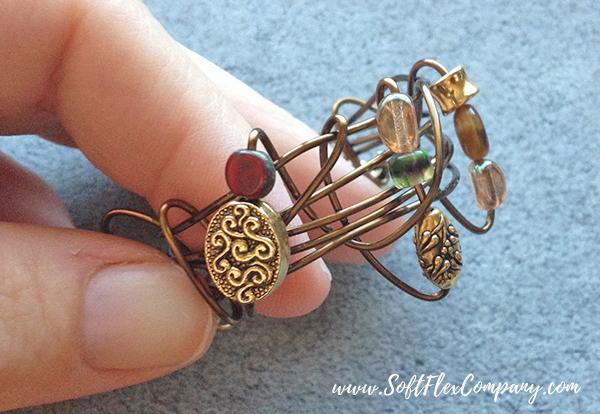 Wire Wrap Napkin Rings by Kristen Fagan