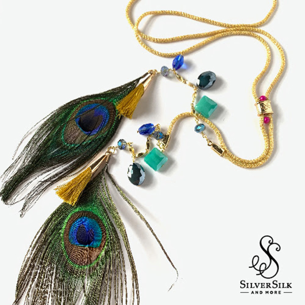 Colors Of India Bolo Necklace by Nealay Patel