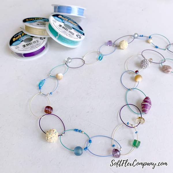 2020 Spring/Summer Pantone Colors Bead Soup Necklace by Kristen Fagan