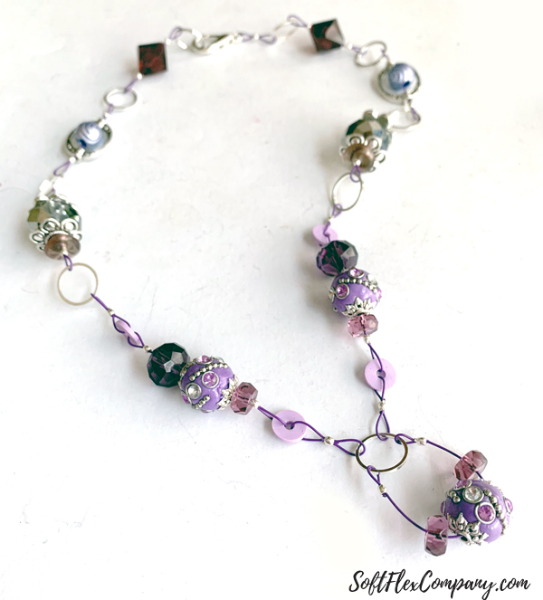 Beaded Chain Necklace by Kristen Fagan