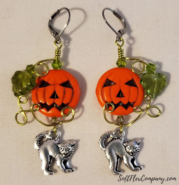 Great Pumpkin Jewelry Designs by Rosanna Brafford