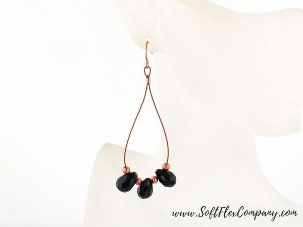 Copper Darling Dangle Earrings by Sara Oehler
