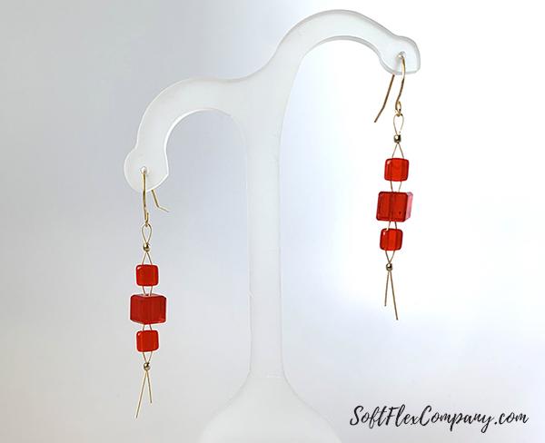 Amazon Princess Earrings by Sara Oehler